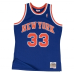 Mitchell & Ness Swingman Jersey - Patrick Ewing Nr. 33 New York Knicks Royal/Orange