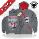 Mafia And Crime Bloods & Crips Hoodie - Black