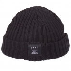 GRIMEY NATURAL FISHER BEANIE BLACK