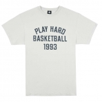 K1X Play Hard Basketball Tee - Stone