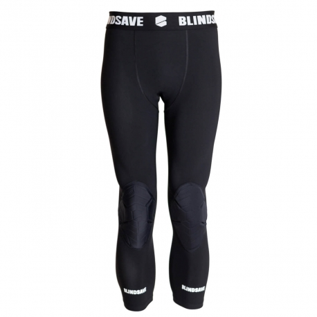 BLINDSAVE Protective 3/4 tights with knee padding
