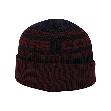 Converse Jacquard Knit Watchcap Red Block