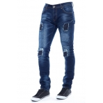 Mezaguz Wire Jean'S Modrá