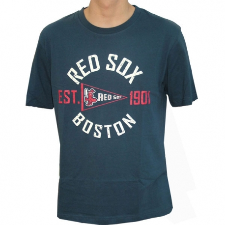 MAJESTIC COOPERSTOWN TEE BOSTON RED SOX