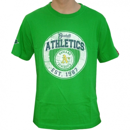 MAJESTIC COOPERSTOWN TEE OAKLAND ATHLETICS
