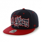47Brand Official NHL Columbus Blue Jackets Snapback Caps