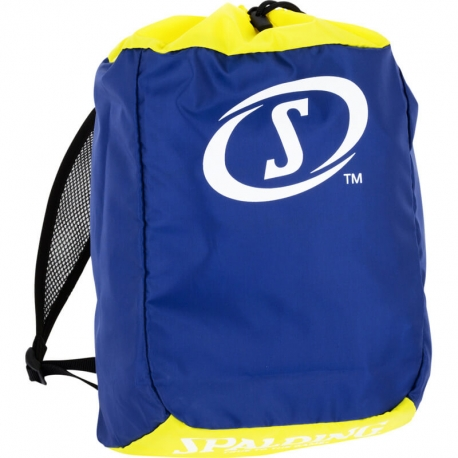 Spalding Sackpack Kids Deep Blue/Lime Yellow