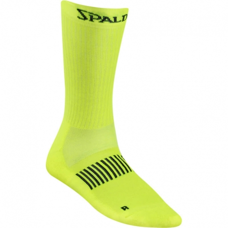 Spalding Coloured Socks Fluo Yellow/Anthra