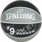 Spalding NBA Player Tony Parker sz.7 Grey/Black