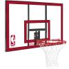 Spalding NBA Polycarbonat Backboard Transparent/Red