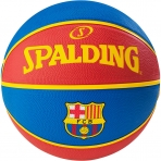 Spalding Euroleague Team Fc Barcelona sz.7 Royal/Red