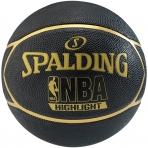 Spalding NBA Highlight Outdoor sz.7 Black/Gold
