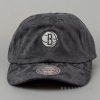 Mitchell & Ness Tonal Camo Strapback NBA - Brooklyn Nets Charcoal