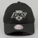 Mitchell & Ness Team Logo Cotton Low Pro Strapback NHL - La Kings Black