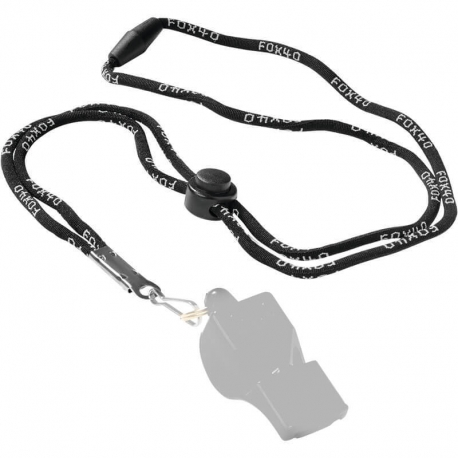 Spalding Fox40 Whistle Cord Black