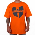 Wu-Tang Classic Logo T-Shirt orange