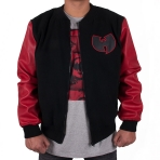 Wu-Tang PYN Colloege Jacket blk/red