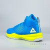 PEAK Basketball Shoes Crystal Blue/Acid Green E54191A