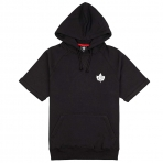 K1X Authentic Cropped Hoody Black