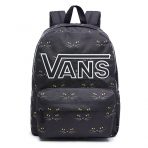 VANS REALM FLYING V BACKPACK BLACK CAT