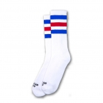 American Socks Ponožky American Pride Ii Mid High White