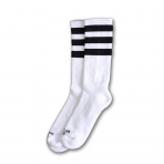 American Socks Ponožky Old School Ii Mid High White