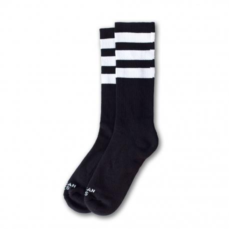 American Socks Ponožky Back In Black Ii Mid High Black