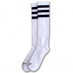 American Socks Ponožky Old School Knee High White