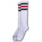 American Socks Ponožky Teenage Anarchist Knee High White