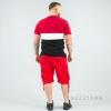 South Pole Elastic Cargo Shorts Non Denim Short Red