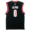 ADIDAS PERFORMANCE NBA INT TRIAL BLAZERS RELICA JERSEY BLACK