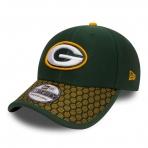 NEW ERA šiltovka 3930 On Field NFL17 GREEN BAY PACKERS