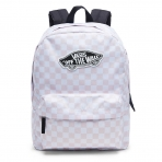 VANS REALM BACKPACK CHALK PINK CHECKERBOARD