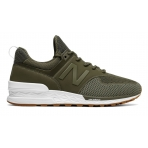 NEW BALANCE MS574EMO - Triumph Green with Covert
