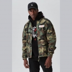 Cayler & Sons Black Label Patched Loose Flight Jacket