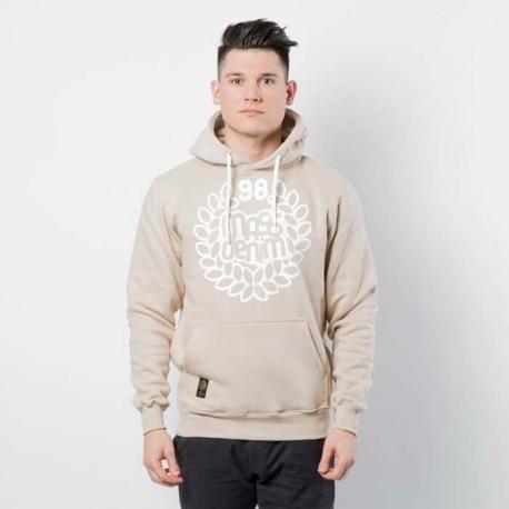 Mass DNM Base Sweatshirt Hoody Beige