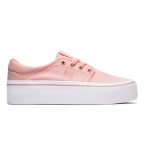DC Shoes W Trase Platform TX Shoes - Pink
