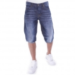 PELLE PELLE BUSTER DENIM SHORT TUNIS