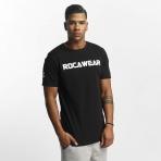 ROCAWEAR COLOR BLOCK TEE BLACK