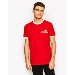 Ellesse Heritage Agrigento T-Shirt True Red