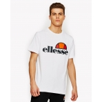 Ellesse Heritage Prado T-Shirt Optic White