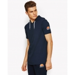 Ellesse Heritage Arpeggiare Hooded Ss T-Shirt Dress Blues
