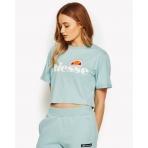 Ellesse Heritage Alberta Crop T-Shirt Sterling Blue