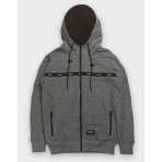 WRUNG ZIP HOODIE TROOP HEATHER GREY