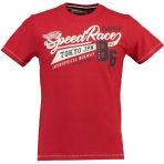 GEOGRAPHICAL NORWAY JRISBEE T-SHIRT RED