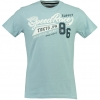 GEOGRAPHICAL NORWAY JRISBEE T-SHIRT SKY BLUE