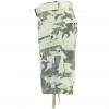 GEOGRAPHICAL NORWAY PANORAMIQUE CAMO SHORTS WHITE