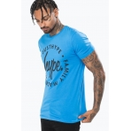 Just Hype T-Shirt - LOCKUP - Blue/Black