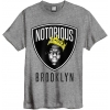 Amplified Tee Biggi Notorious Brooklyn Grey Marble