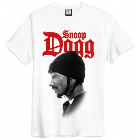 Amplified Tee Snoop Dogg Profile Wht